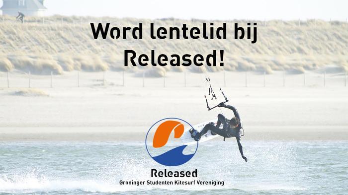 Word lid bij Released!