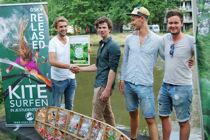 Released wint 300 euro voor duurzaam kiteboard!