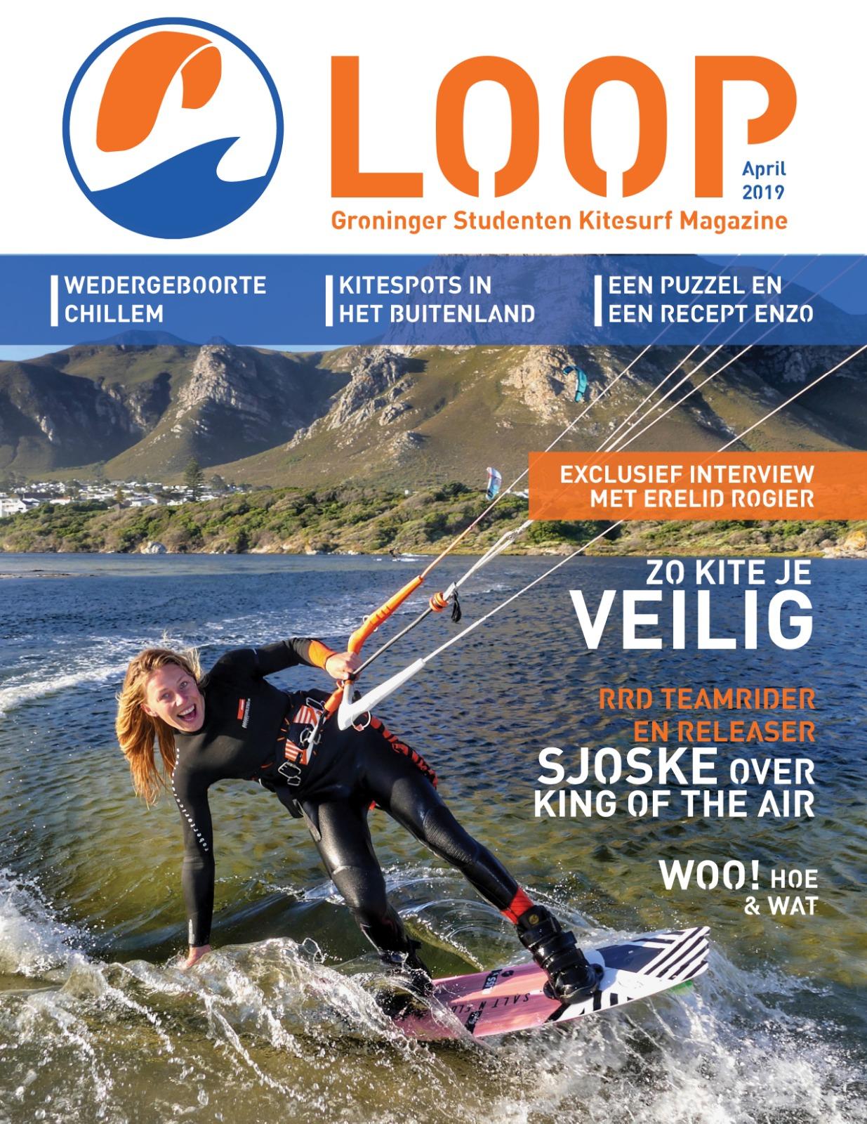 NIEUW - Ons eigen Groninger Studenten Kitesurf Magazine: de LOOP